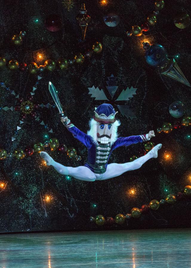 Ballet in The Nutcracker; Photo by Quinn B. Wharton