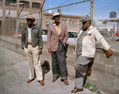 Longtime Neighbors, Langton at Folsom Street, 1980.