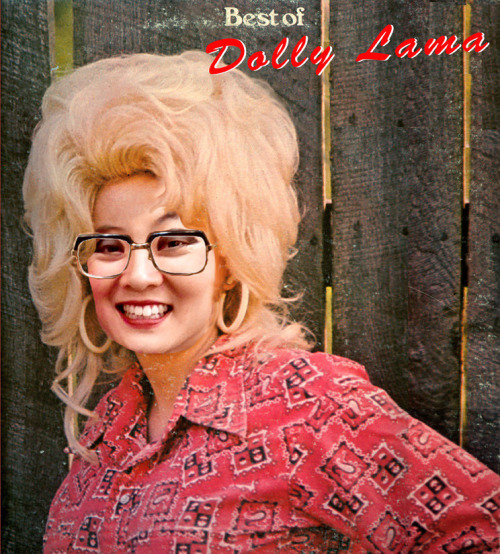 Theresa Wong as Her Unholiness the Nth Incarnation of the Dolly-Lama.