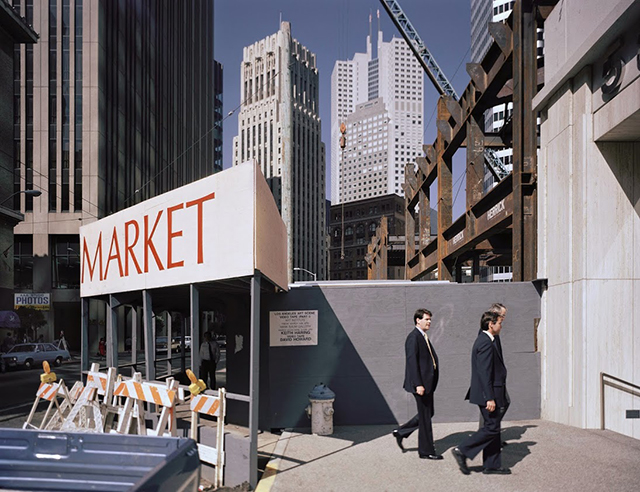 Second at Market Street, 1986. Photo by Janet Delaney