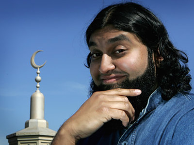 Chicago comic Azhar Usman's comedy heroes include George Carlin and a 13th-century Sufi saint named Mullah Nasreddi