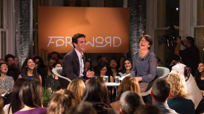 B.J. Novak speaks to Foreword host Kelly Corrigan