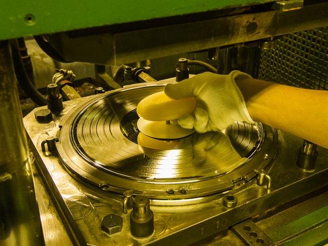 GZ Media Record Pressing