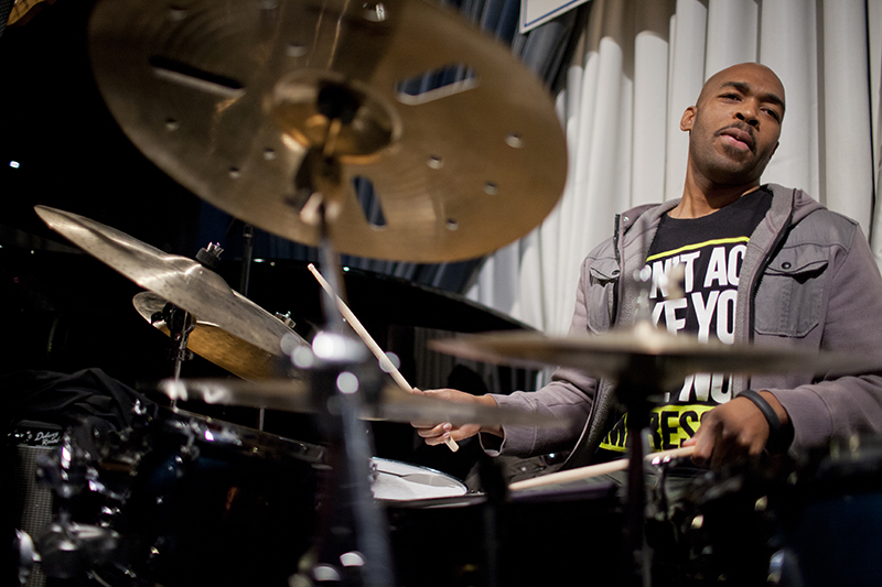 Eric Harland leads a unique residency at SFJAZZ this week complete with... Madden NFL 15?! (Photo: John Rogers)