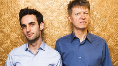 """Julian Lage, left, on playing with Nels Cline: """"It's okay to go for it and just own it. Nels is the best at that."""" (Photo: Justin Camerer)"""