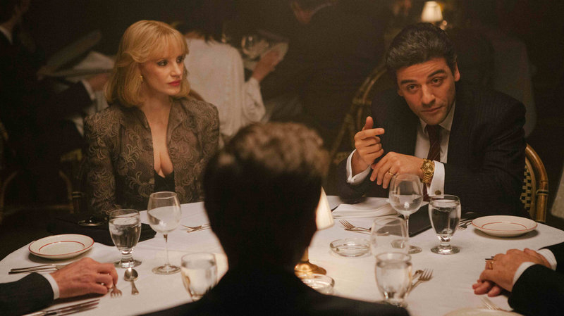 Jessica Chastain and Oscar Isaac inA Most Violent Year