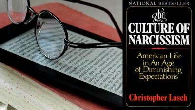 Yes, I am reading 'The Culture of Narcissism' on my phone.