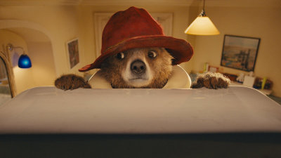 Based on the popular children's book character, Paddington follows the misadventures of a bear (voiced by Ben Whishaw) who travels to London in search of a home.
