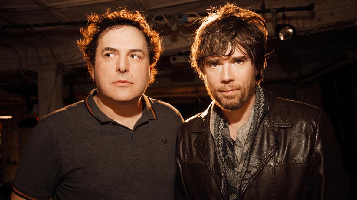 Tom Scharpling and Jon Wurster. (Photo: Mindy Tucker)
