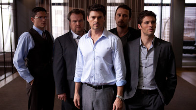Wentworth Miller, Eric Stonestreet, Karl Urban, Matthias Schoenaerts, and James Marsden.