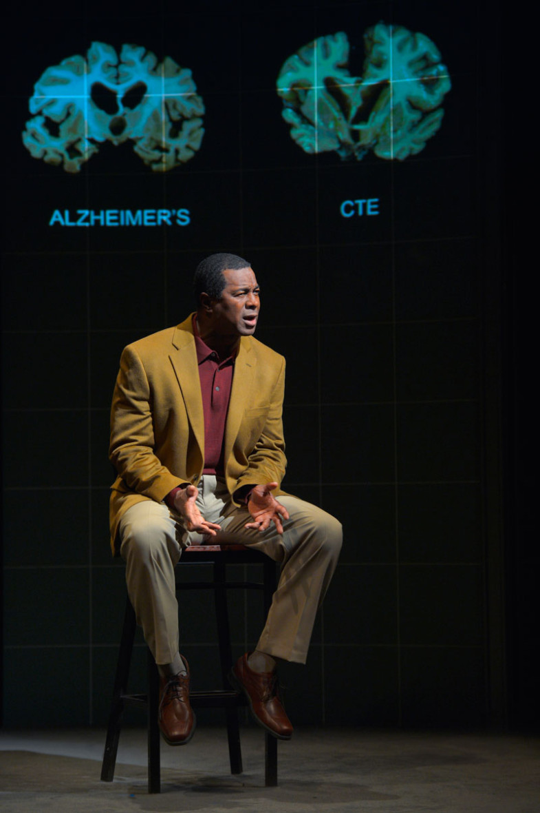 Former 49er Dwight Hicks explores football-related brain damage in X's and O's at Berkeley Rep.