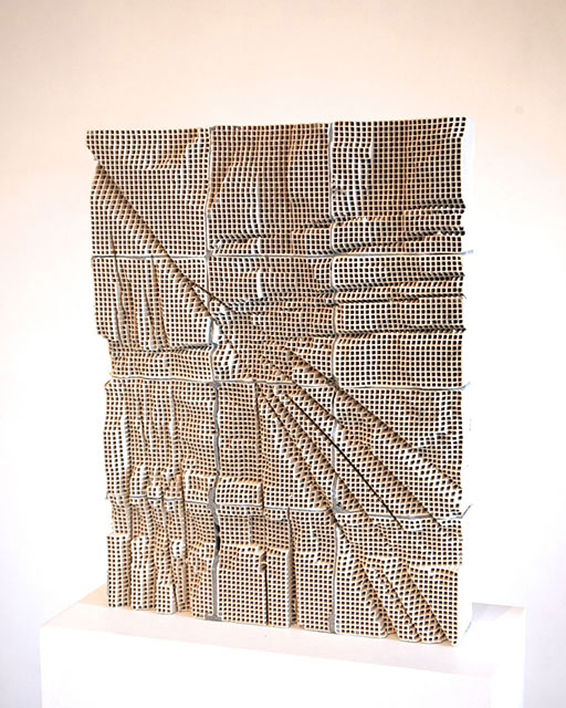Randy Colosky, Slab #3, 2014; Courtesy of Chandra Cerrito Contemporary, Oakland