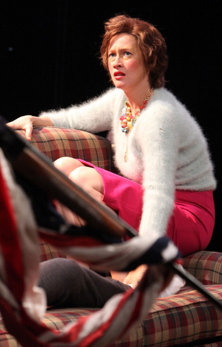 A recovering Beth (Jessi Campbell) is confronted by the true nature of things in Magic Theatre's A Lie of the Mind.
