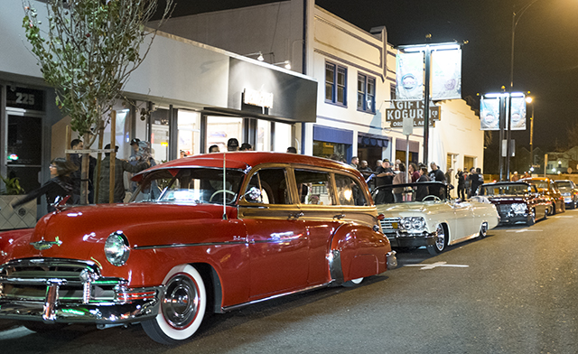 Classic Lowrider cars at Second Friday Art Walk Japantown. (Photo: Cherri Lakey)