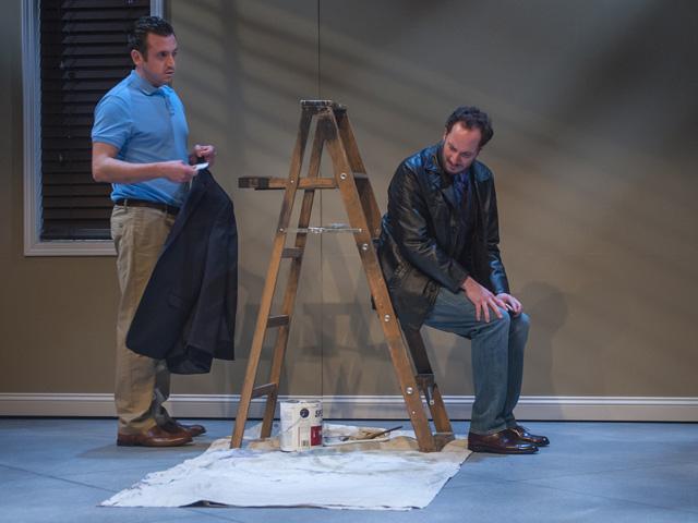 Nicholas Pelczar and  Joe Estlack (L-R) in Aurora Theatre Company's Bay Area Premiere of The Lyons. (Photo: David Allen)