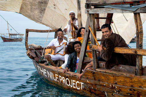 Musicians from the Nile Project (Photo by Peter Stanley/The Nile Project)