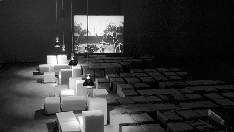 A still from the film essay Monument of Sugar by Lonnie van Brummelen and Siebren de Haan (Photo courtesy of the YBCA)