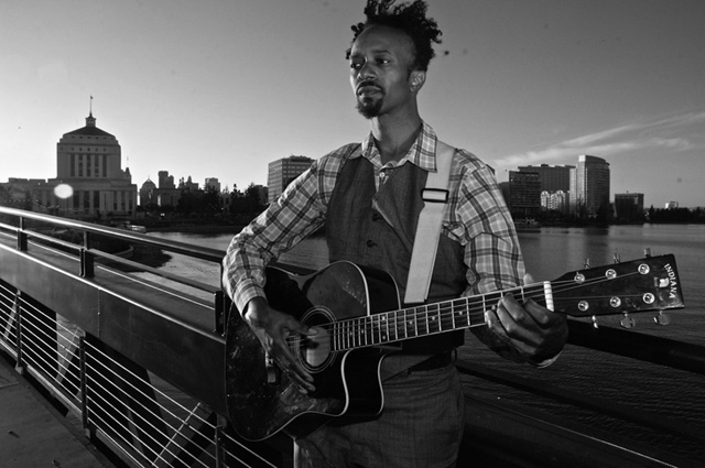 """This day is short-circuiting me,"" Xavier Dphrepaulezz told KQED today. ""[I] have never felt so much goodwill so fast."" (Photo: Eric Taylor, courtesy fantasticnegrito.com)"