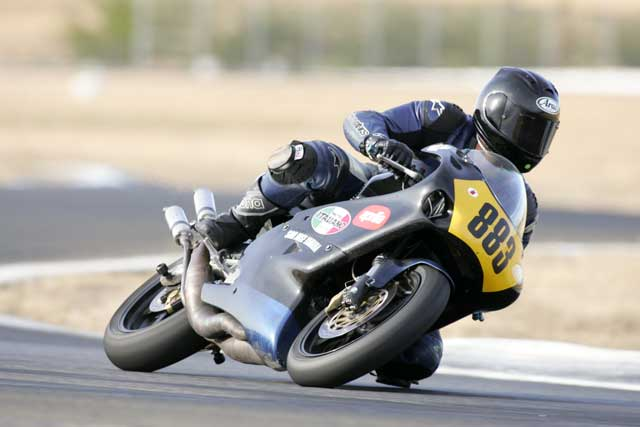 Brandon Anderton on Track Day at Sears Point Raceway, circa 2006. (Photo courtesy Brandon Anderton)