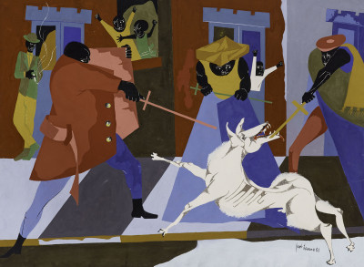 Promised Land: Jacob Lawrence at the Cantor
