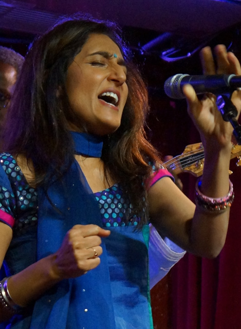Kiran Ahluwalia credits the spontaneous collaboration at Canadian folk festivals for her cross-pollinated sound. (Photo: Swathi Reddy)