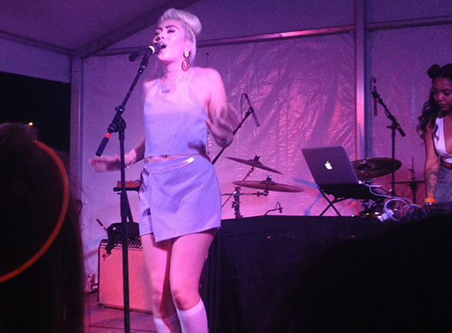 Kali Uchis performs at South by Southwest in Austin, 2015. (Photo: Brandon Roos)