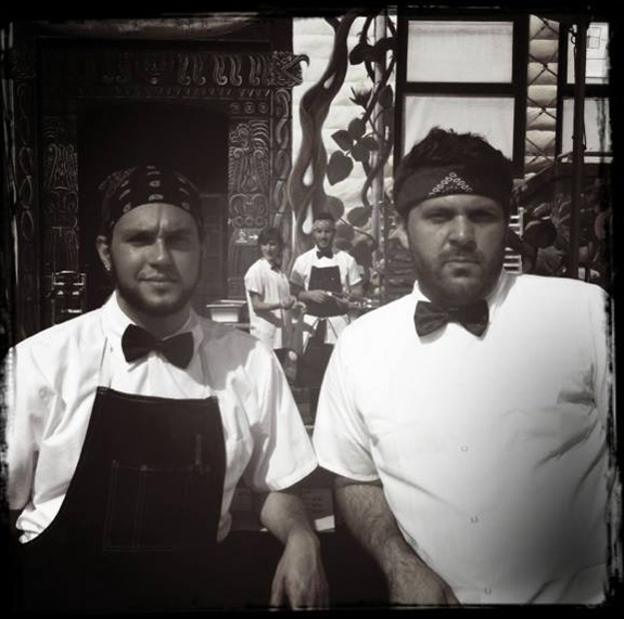 Leo Beckerman and Evan Bloom, owners of Wise Sons Jewish Delicatessen in San Francisco. (Photo: Wise Sons Facebook)