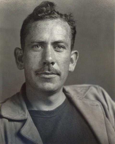 Sonya Noskowiak, John Steinbeck, c. 1930s. (Courtesy Weston Gallery, Carmel)