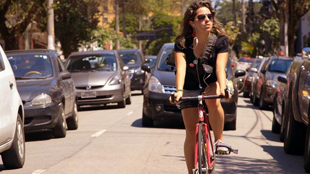 Scene from Bikes vs Cars. (Courtesy of the Green Film Festival)