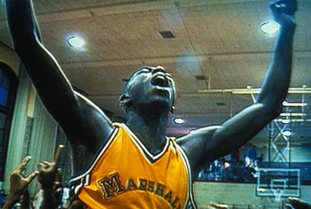 Scene from Hoop Dreams, 1994. (Courtesy of Janus Films)
