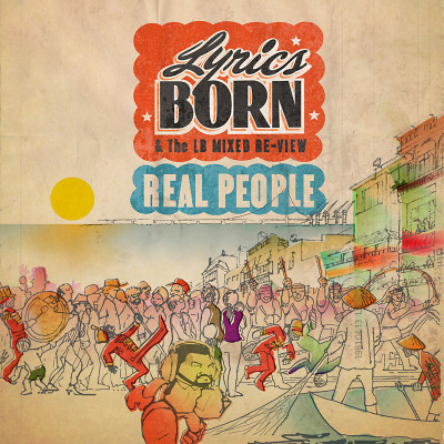 'Real People' album art.