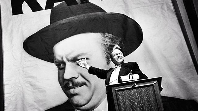 Scene from Citizen Kane, 1941. (Courtesy of