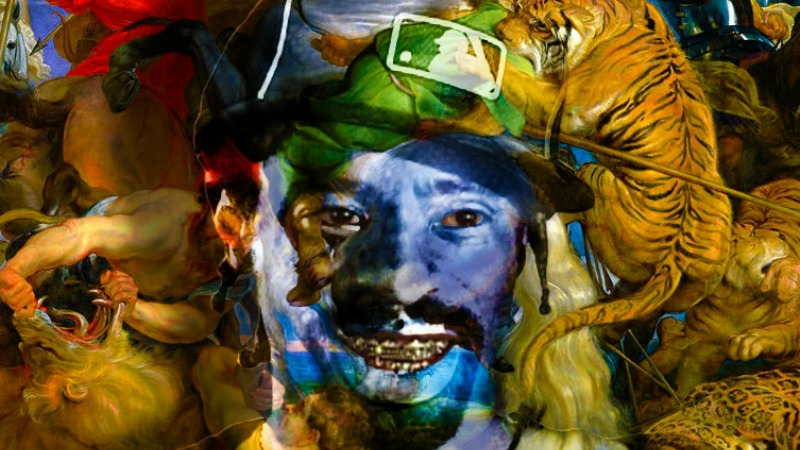 One of Maxwell Sage's pieces featuring Mac Dre; courtesy Maxwell Sage