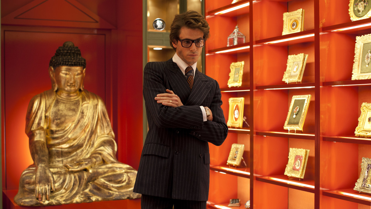 Gaspard Ulliel as Yves Saint Laurent. (Courtesy of Sony Pictures Classics)