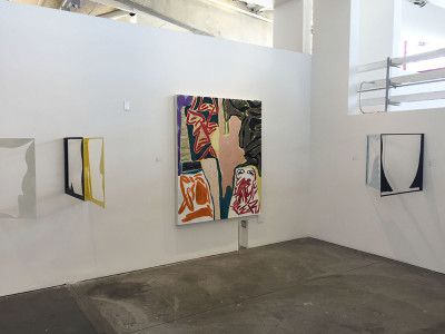 Micah Wood, Installation view at CCA. (Courtesy of the artist)
