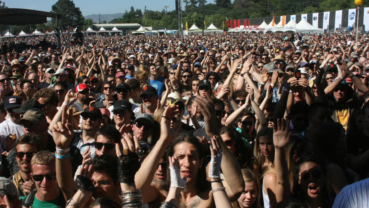 The crowd at BottleRock 2013. (Photo: Gabe Meline)