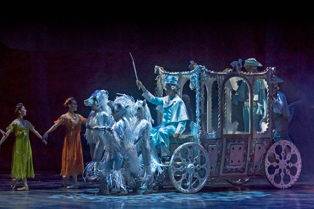 A scene from the upcoming production of Cinderella at Ballet San Jose. (Photo: Robert Shomler)