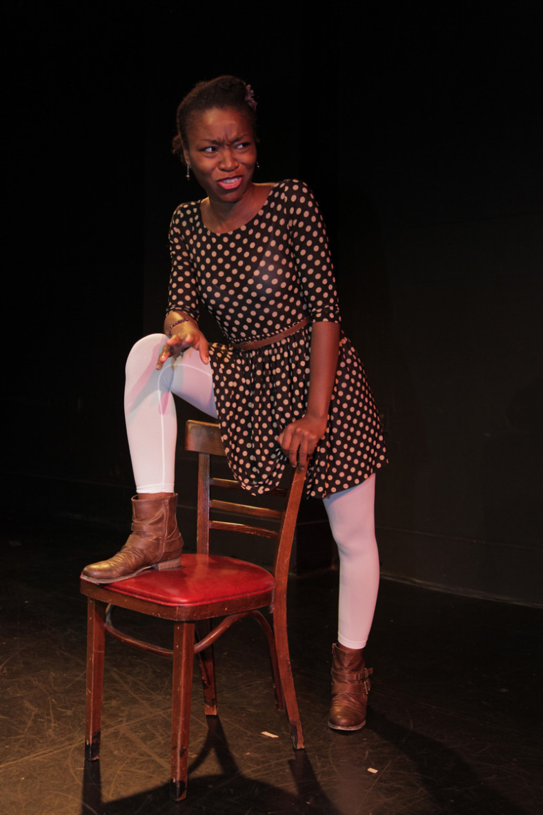 Echo Brown plays several characters besides herself in Black Virgins Are Not for Hipsters. (Photo: Alexis Keenan)