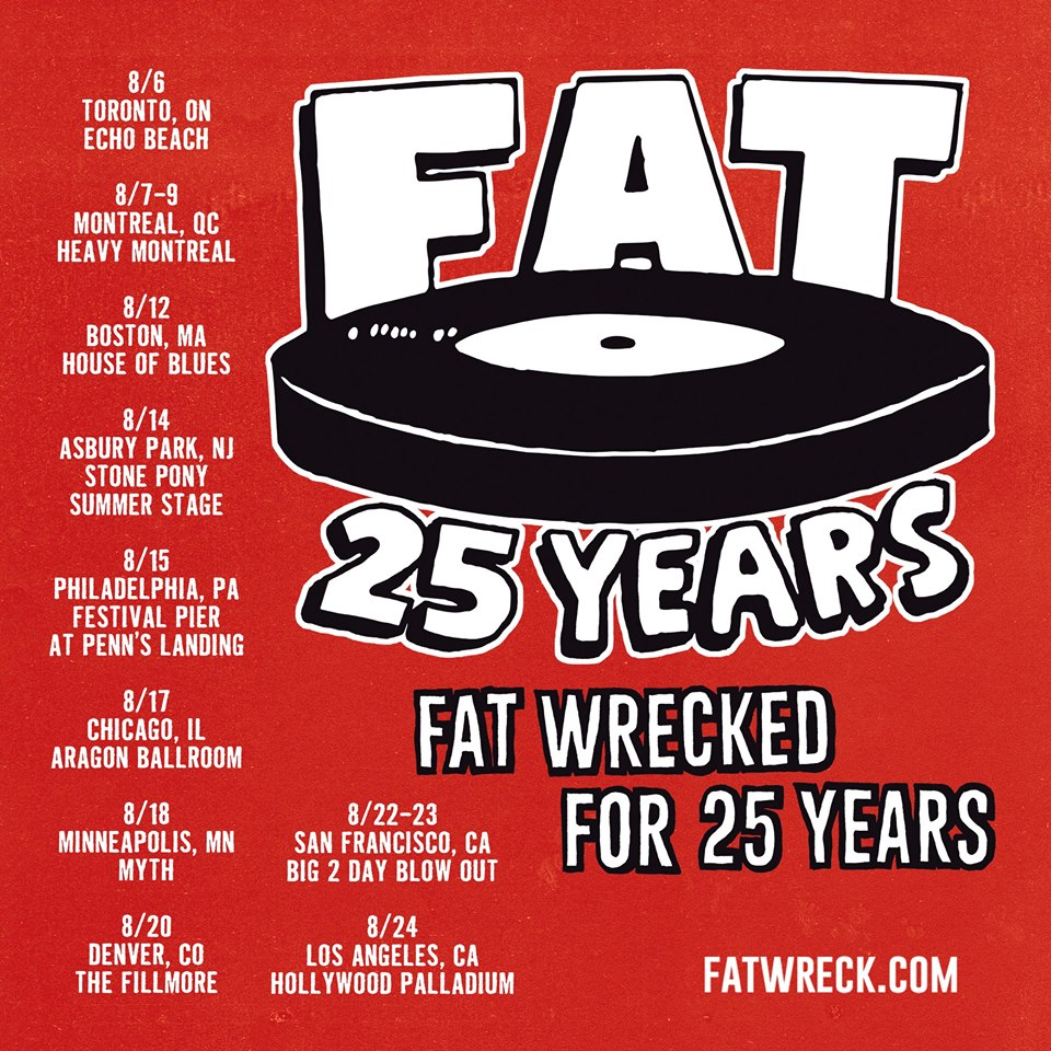 Fat Wreck Chords 2015 Poster