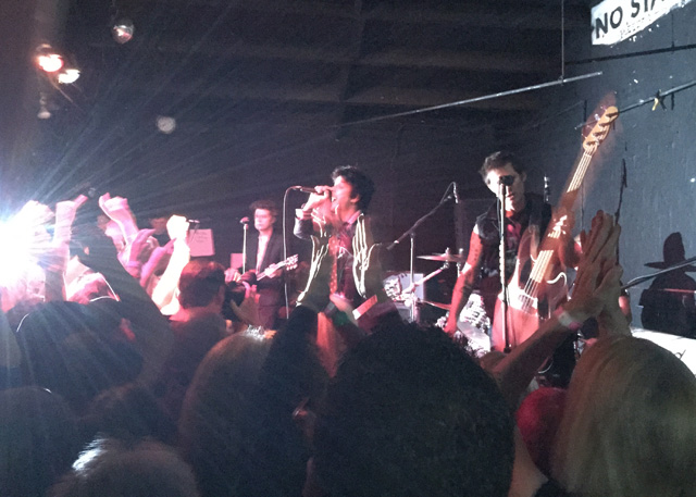 Green Day at 924 Gilman