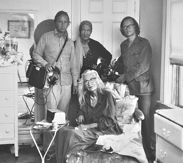The Maysles and the Edies. (Courtesy of Maysles Films)
