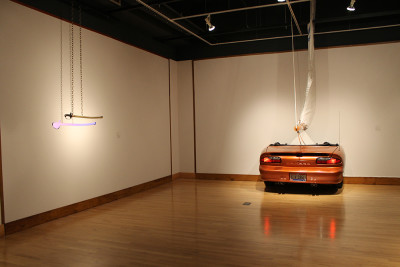 Alexandra Lederer, Installation view at SF State, 2015. (Courtesy of SF State)