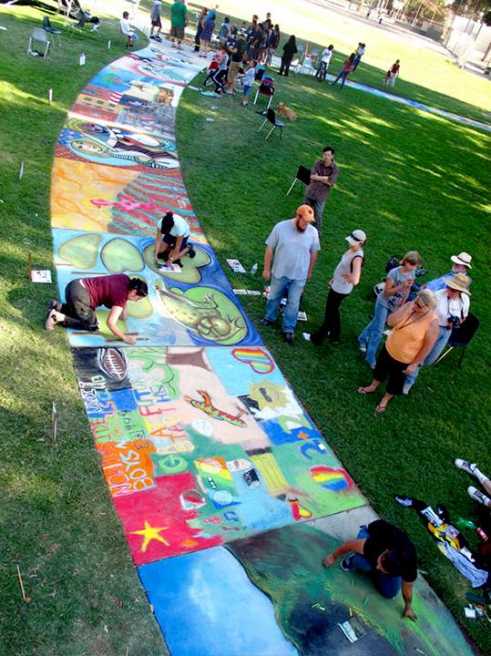 Luna Park Chalk Art Festival