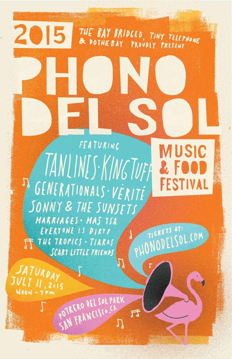 Phono del Sol 2015 Poster