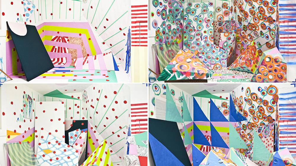 Sofie Ramos, decorate/defecate (stills), 2014-15. (Courtesy of Berkeley Art Museum)