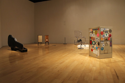 Randy Sarafan, Installation view at SF State. (Courtesy of SF State)