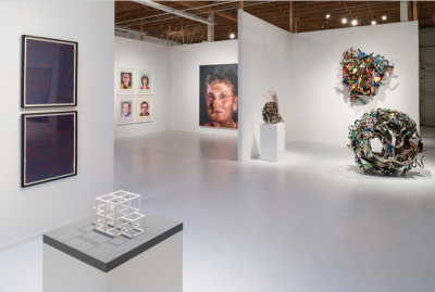 Pace Gallery's current exhibit (Courtesy of Pace Gallery)