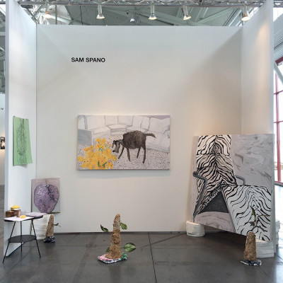 Sam Spano, Installation view at Fort Mason Center, 2015. (Courtesy of the artist)