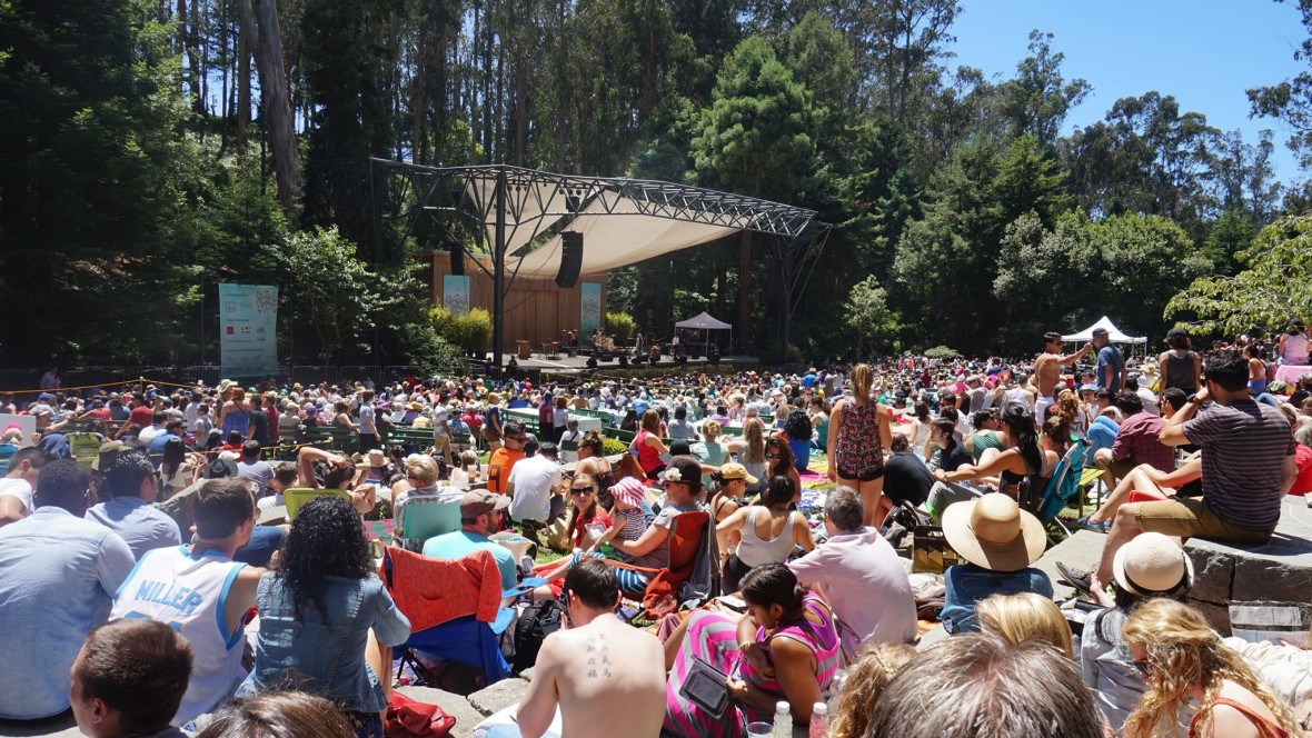 Crowd at 2014 Stern Grove Festival