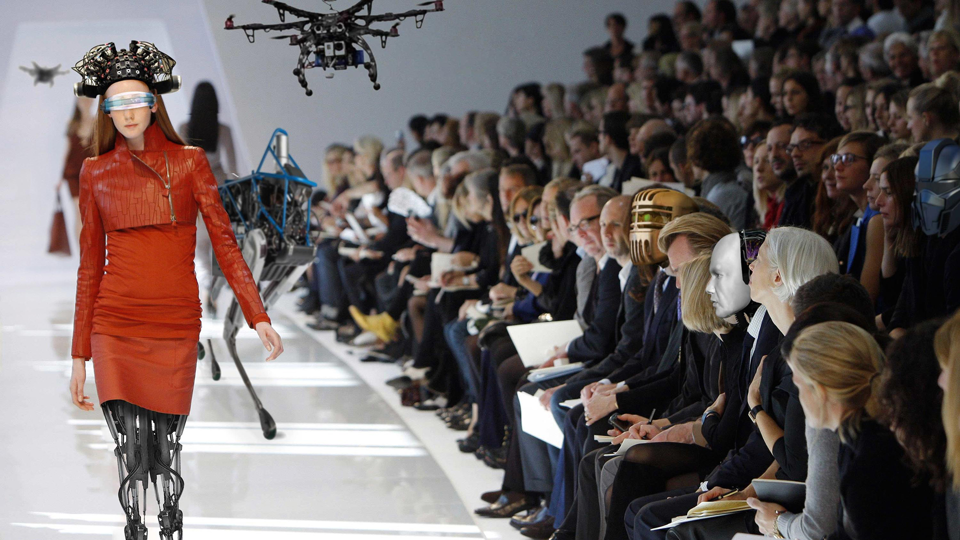 Drones And Dresses At Silicon Valleys First Fashion Week The Do
